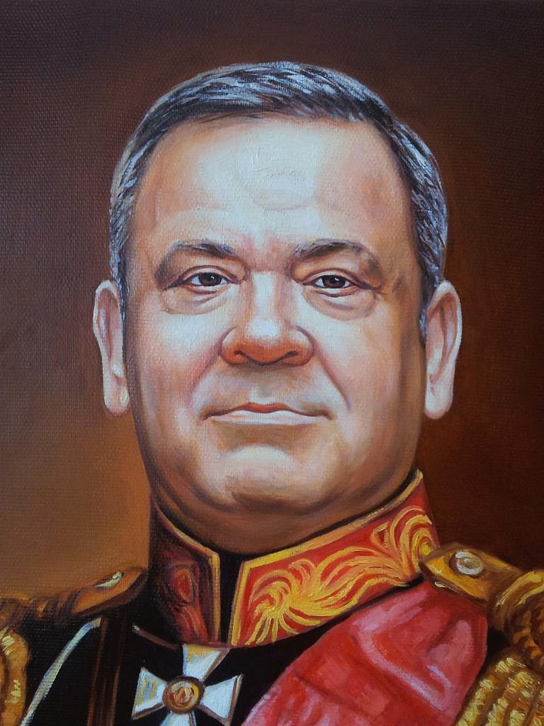 Портрет маслом на холсте в Костроме