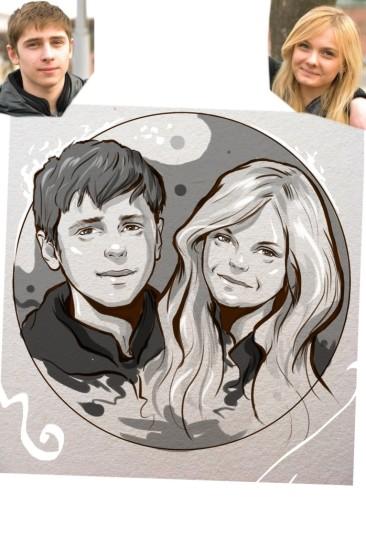Заказать портрет на годовщину свадьбы в Костроме