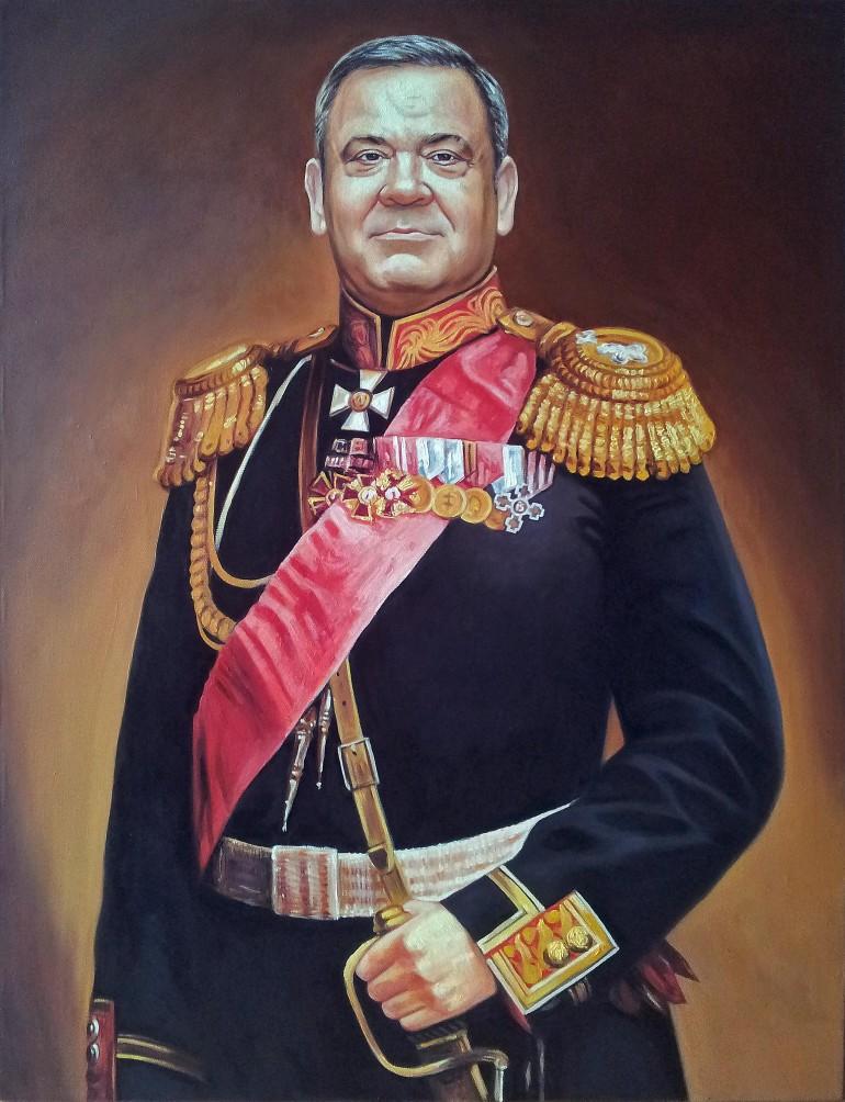 Где заказать портрет маслом в Костроме?