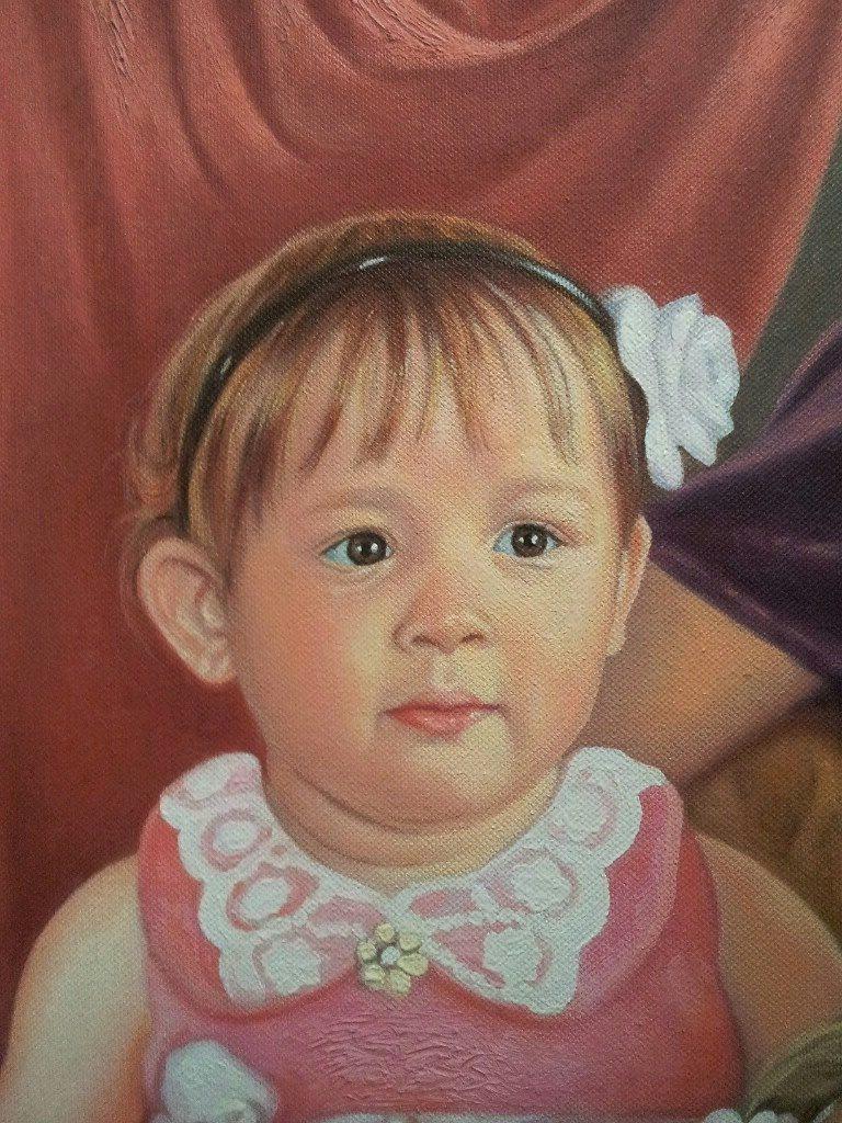 Портрет маслом семейный Кострома