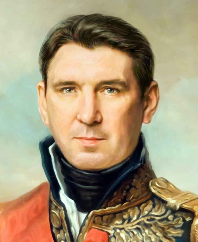 портрет по фото на холсте в подарок Кострома