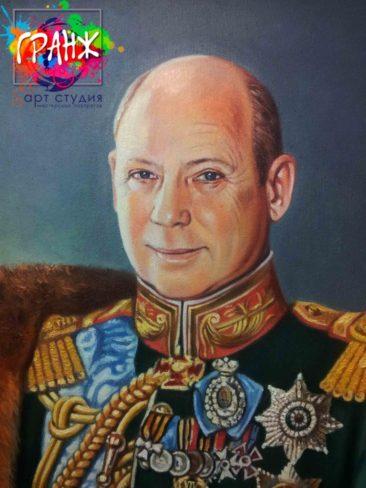 Заказать портрет маслом в Костроме