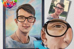 Портретная живопись маслом, купить в Костроме